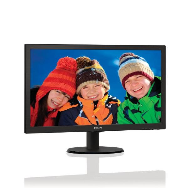 """Philips 223V5LSB/62 21.5"""" Full HD LCD/TFT Zwart LED display"""